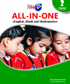 Full Marks All In One(English, Hindi, Mathematics, EVS) Guide For Class 2