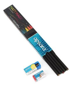 Apsara Matt Magic Extra Dark Pencils Full pack