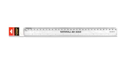 Natraj 621 - 30cm/12inches Ruler(Scale)