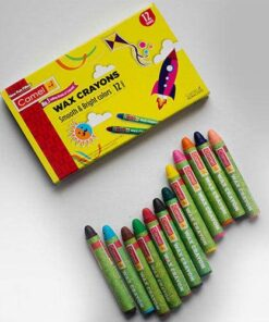 Camel Wax Crayons Smooth and Bright 12 Shades