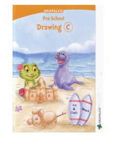 Grafalco Pre School Drawing - C Book For CBSE And ICSE Students