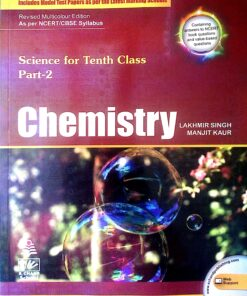 S Chand Chemistry For Class 10th By Lakhmir Singh & Manjit Kumar