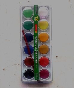 Camel Students Water color cakes 12 Shades Extra long