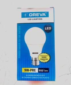 OREVA LED Bulb 9 Watt-PRE 900 lm White(3 Year Grantee)