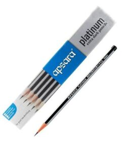 Apsara Platinum Extra Dark pencil