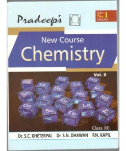 Pradeep Chemistry side book For Class 12th Vol-I & II