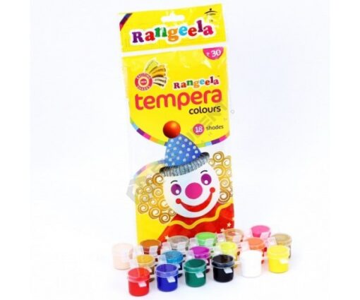 Rangeela Water Colors - Tempera colors with free Brush