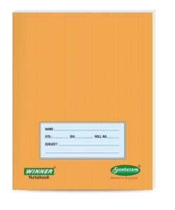 Single Winner Small Size Notebook 200 pages