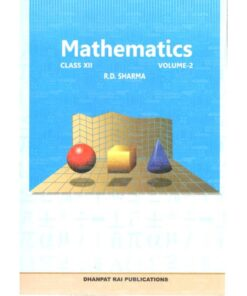 RD Sharma Mathematics Class 12th (Set of 2 Volumes)