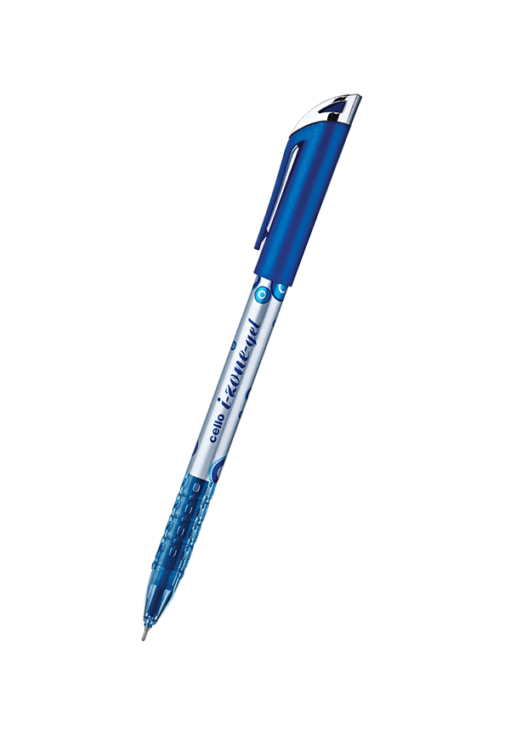 Cello I-Zone Gel Pen Blue, Red, Black