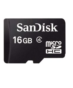 SanDisk 16gb Memory Card Class 4