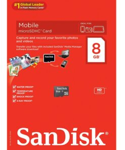 SanDisk 8gb Memory Card Class 4