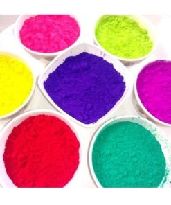 2kg rangoli color with 10 different shades - 10 multi colors