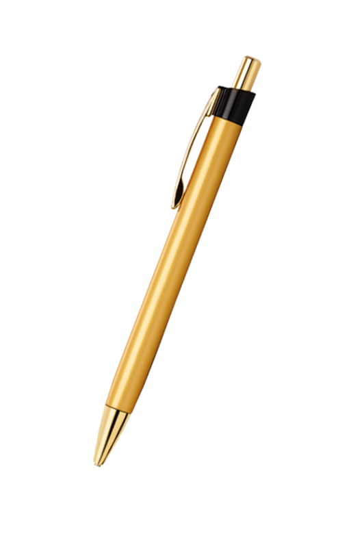 Cello Bronza Ball Pen Black, Blue