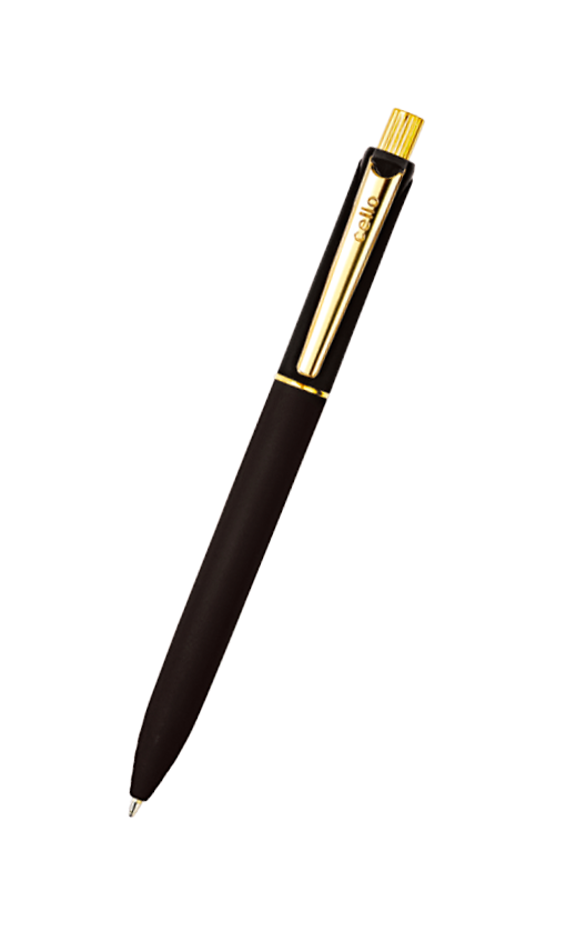 Cello Jet Maxx Gold Ball Pen Blue