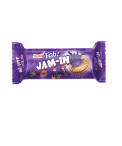 Fab! Jam-in Blackcurrant Biscuits
