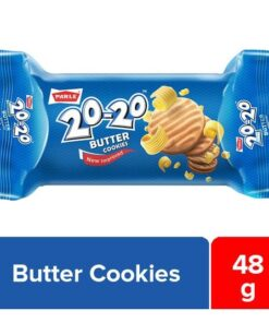 Parle 20-20 Butter Cookies, 45 g Pouch