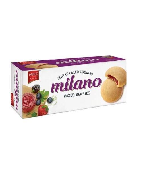 Milano Centre Filled Cookies - Mixed Berries