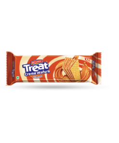 Britannia Treat Cream Wafers Orange