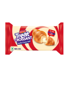 Britannia Treat Croissant Vanilla Cream Roll