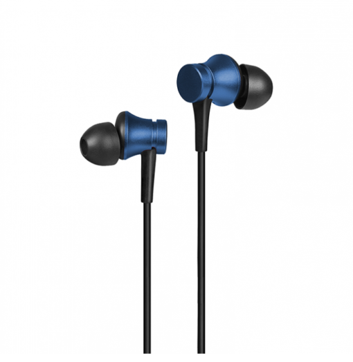 Mi Earphone Basic with Ultra Deep Bass and Mic (Blue)